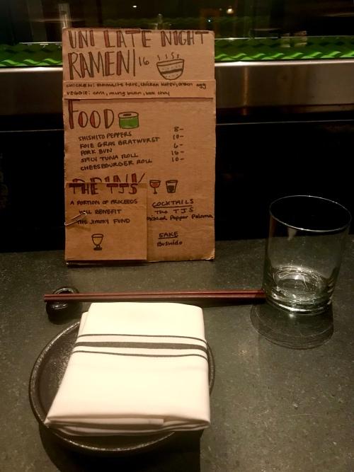 Boston dining, late night dining in boston
