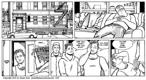 james asal jr, gay cartoon, ay comic