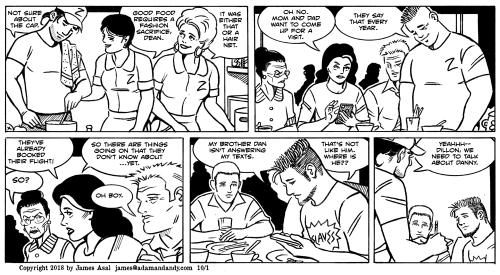 james asal jr, gay comic strip, gay cartoon
