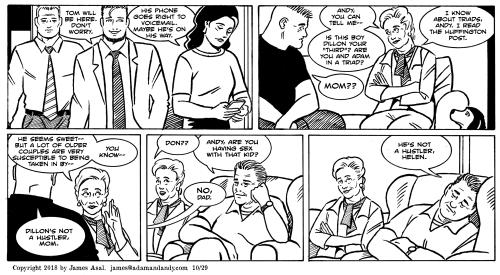 james asal jr, gay comic, gay cartoon