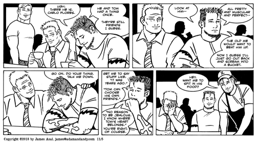 james asal jr, gay cartoon