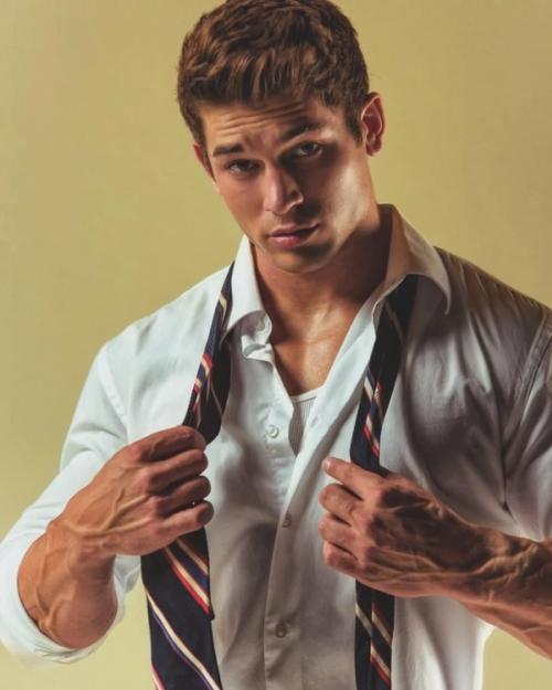 handsome, man dressing