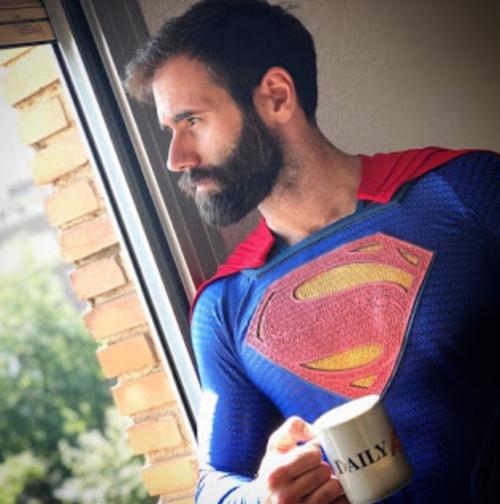 superman, handsome, hunk