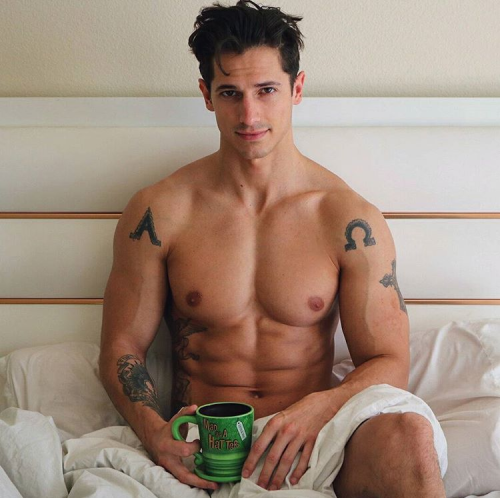 handsome, hunk, man candy, coffee lover