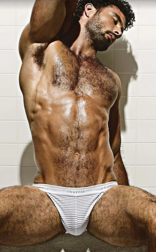 handsome, hunk, hairy, man candy, mancandy, white, sweaty guy, arm pits, hairy pitts