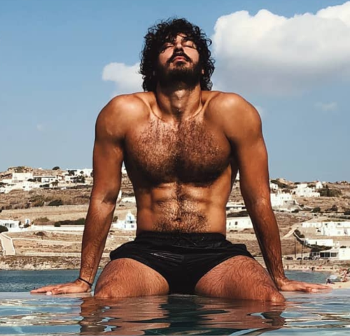 Ariel Wollek, handsome, hunk, hairy, man candy, mancandy, handsome israeli, man crush