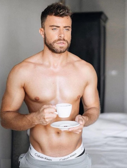 handsome, hunk, muscular man, gorgeous guy