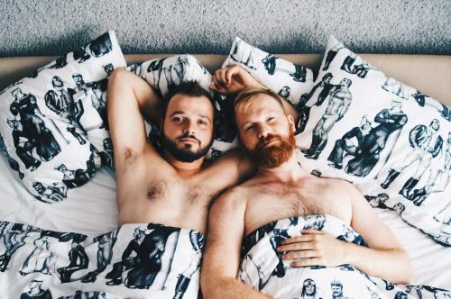 gay men in bed, gay travel