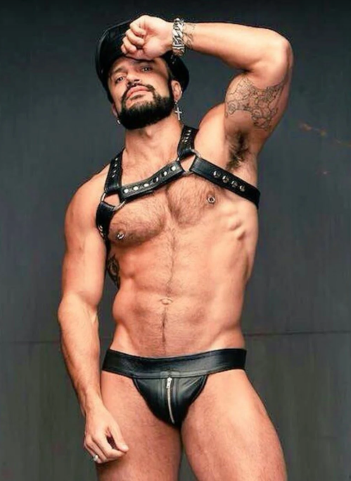 leather, fetish, handsome, hunk