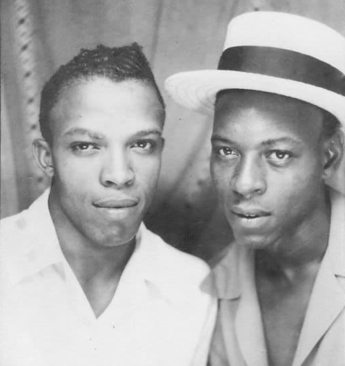 men of color, vintage men of color, black gay couple