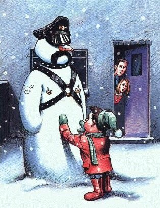 gay humor, gay snowman