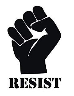 resistance, women's march
