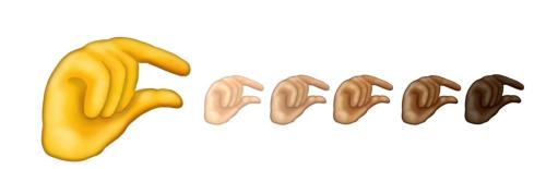 tiny penis emoji