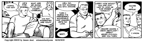 James Asal Jr, gay cartoon, gay comics