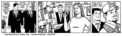 James Asal Jr, gay cartoon, gay comics