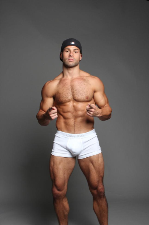 man in underwear, jock, handsome guy