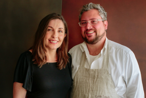 south end dining, Heather Lynch, Colin Lynch
