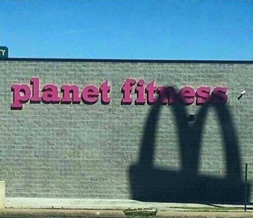 McDonalds, Planet Fitness