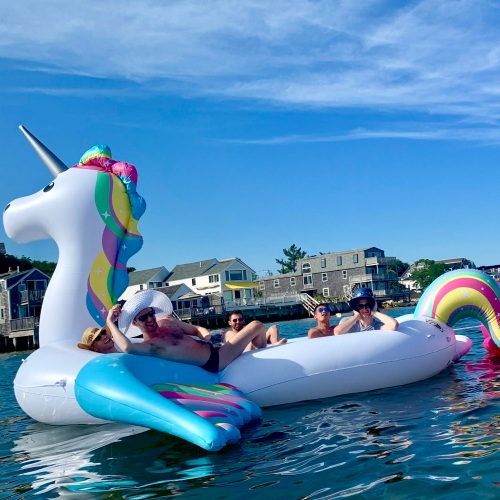 provincetown floating unicorn