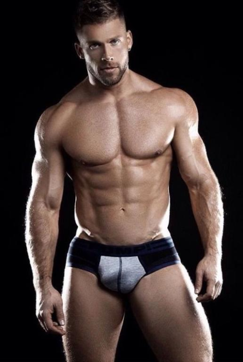 handsome, hunk, muscular guy