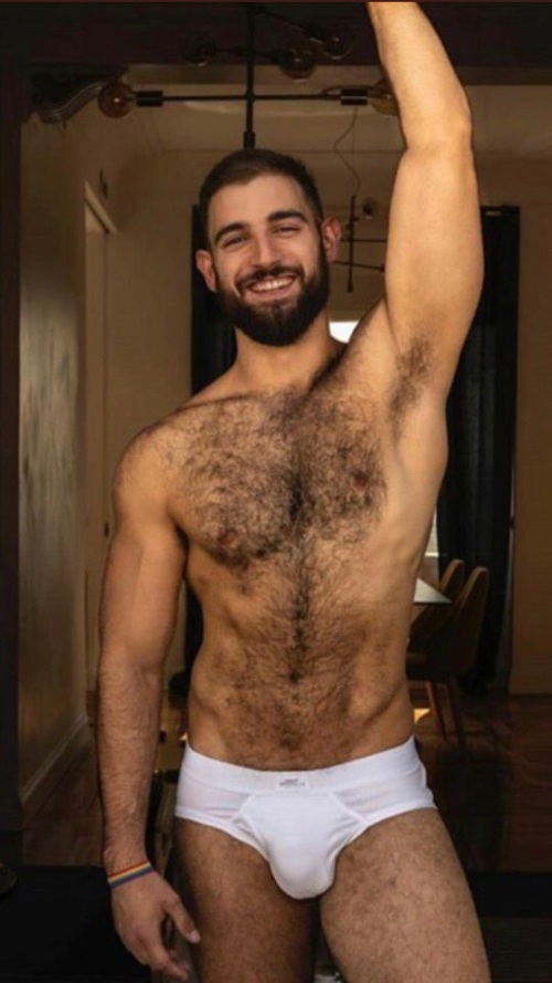 handsome, hairy, hunk, hairy chest