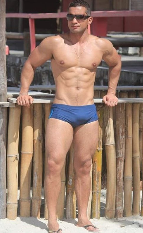 speedo, handsome, hunk, muscles