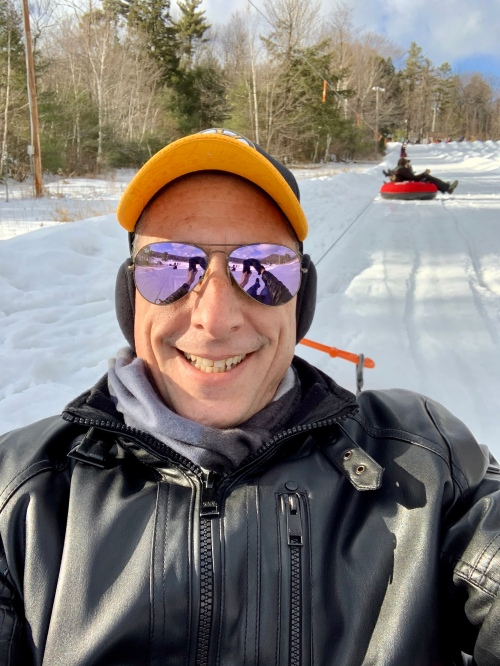 snow, snow tubing, gunstock mountain
