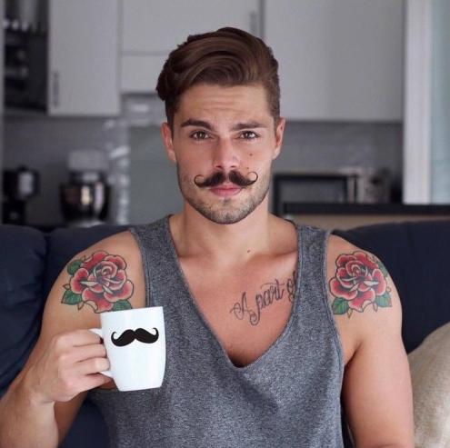 mustache, moustache,