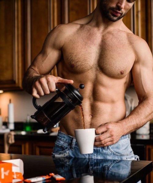 male torso, abs