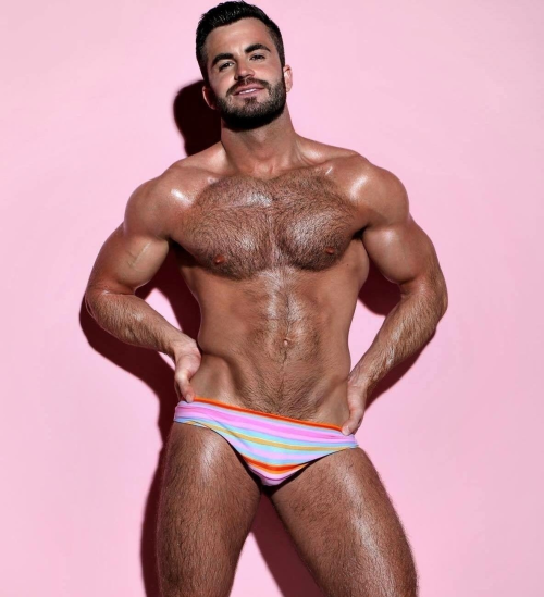 pink, handsome, sexy, gorgeous, hairy