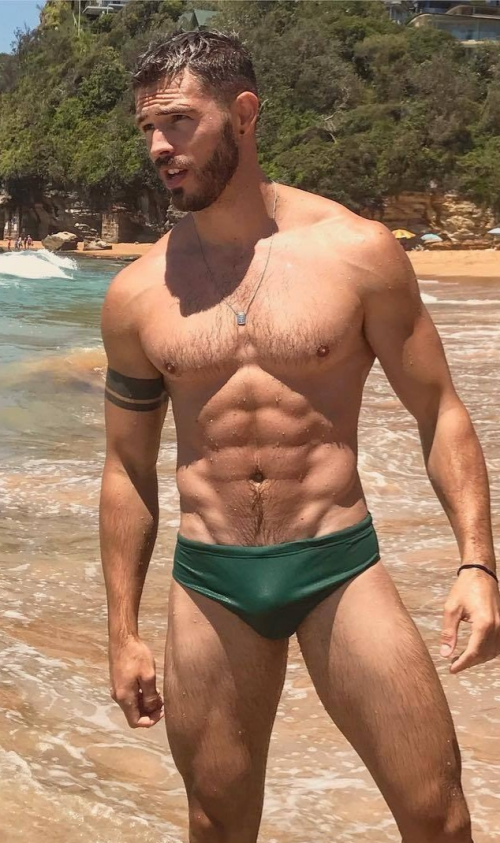 green, speedo